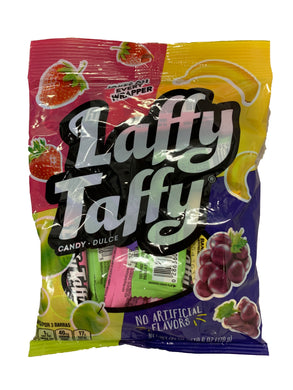 LAFFY TAFFY ASSORTED PEG BAG 170G