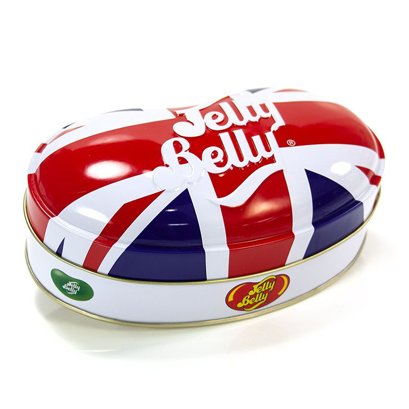 JELLY BELLY UNION JACK TIN ASSORTED BEANS 200G