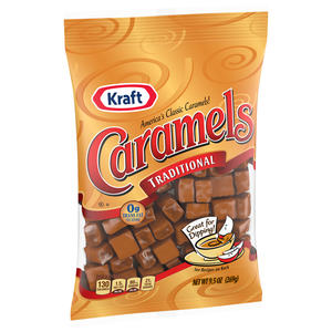 KRAFT CARAMELS INDIVIDUALLY WRAPPED 269G