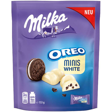 MILKA OREO MINIS WHITE CHOCOLATE 153G