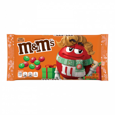 M&M'S CHRISTMAS PEANUT BUTTER 283G