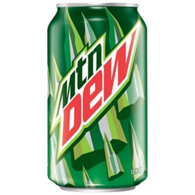 MOUNTAIN DEW USA VERSION 355ML 12 PACK