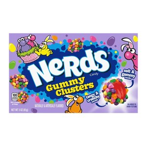 NERDS EASTER GUMMY CLUSTERS THEATRE BOX 85G