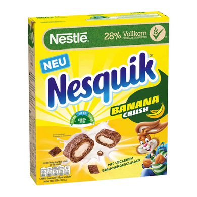 NESTLE NESQUICK BANANA CRUSH CEREAL 150G