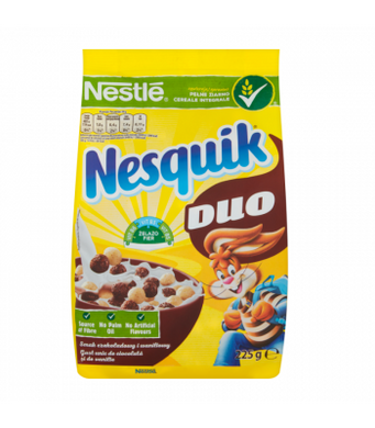 NESTLE NESQUIK DUO CEREAL 225G