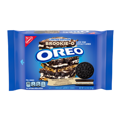OREO LIMITED EDITION BROOKIE-O COOKIES 374G