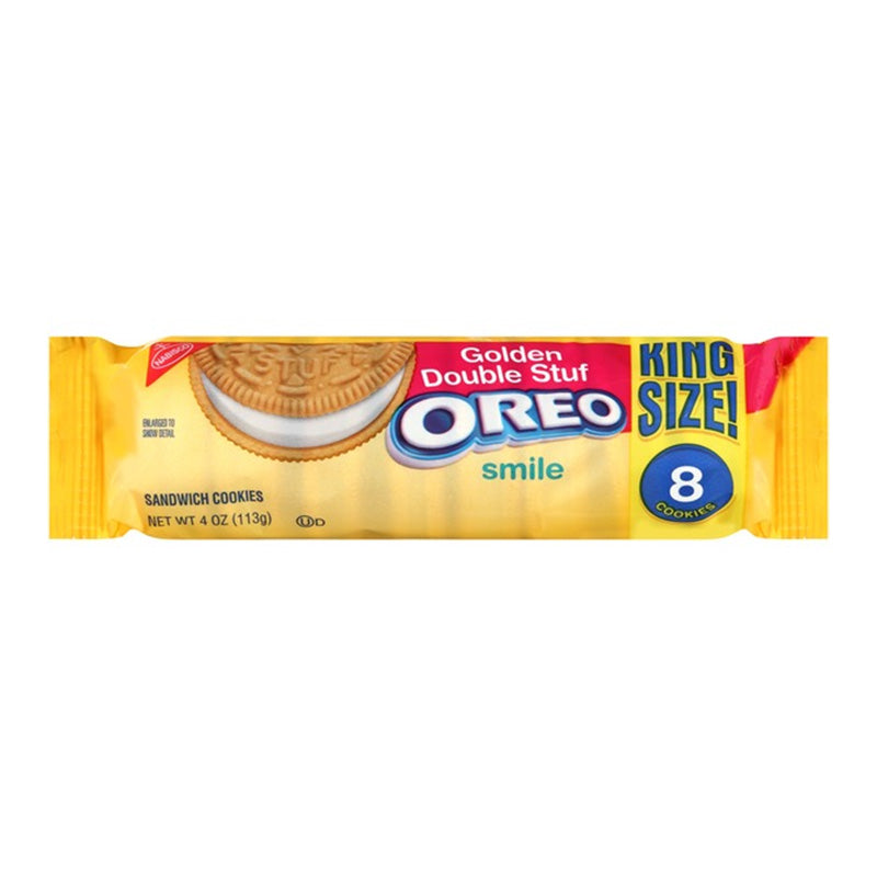 OREO GOLDEN DOUBLE STUFF COOKIES KING SIZE 113G
