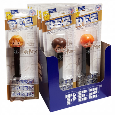 PEZ HARRY POTTER BLISTER PACK