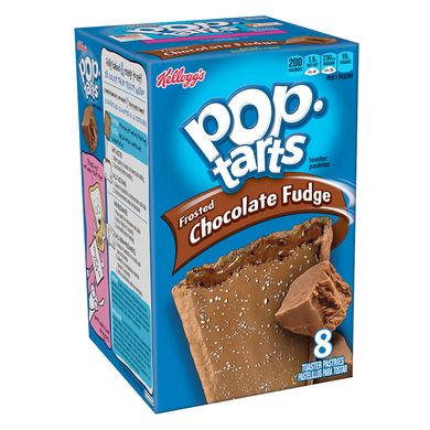 POP TARTS FROSTED CHOCOLATE FUDGE - PACK OF 8