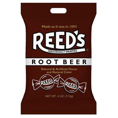 REED'S ROOT BEER HARD CANDY BAGS 113G