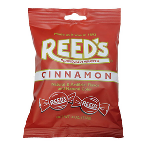 REED'S CINNAMON CANDY PEG BAG 113G