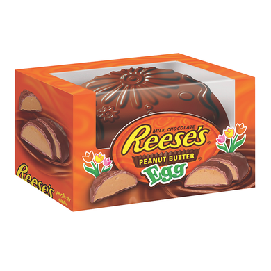REESE'S PEANUT BUTTER FILLED SOLID EASTER EGG 170G