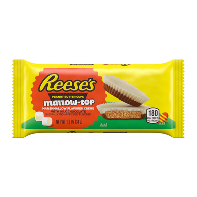 REESE'S PEANUT BUTTER CUPS MALLOW TOP 34G