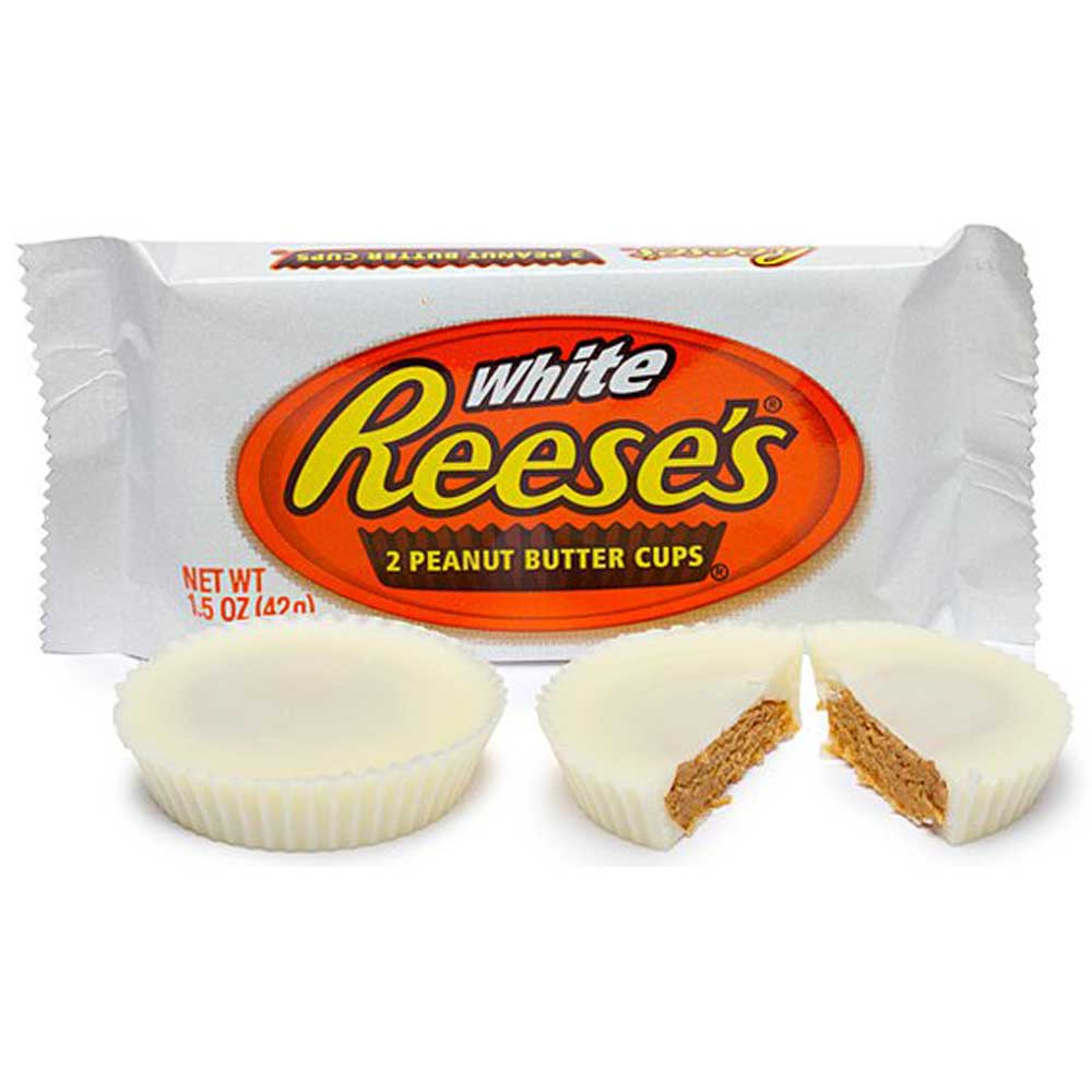 REESE'S WHITE PEANUT BUTTER CUP 42 G