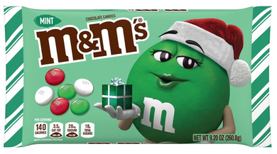 M&M'S HOLIDAY MINT CHOCOLATE 260G
