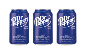 DR PEPPER DARK BERRY - LIMITED EDITION SPIDERMAN - SINGLES OR BOX OF 12