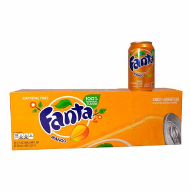 FANTA MANGO SODA 355ML - SINGLE & 12 PACK