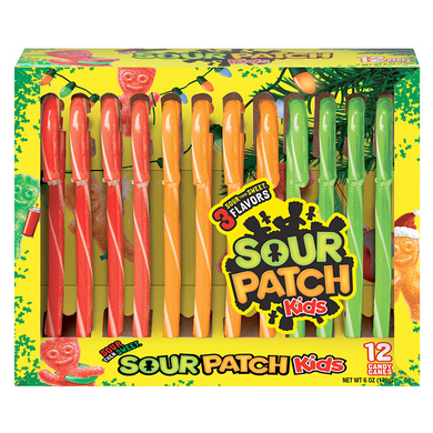 SOUR PATCH CANDY CANES 170G