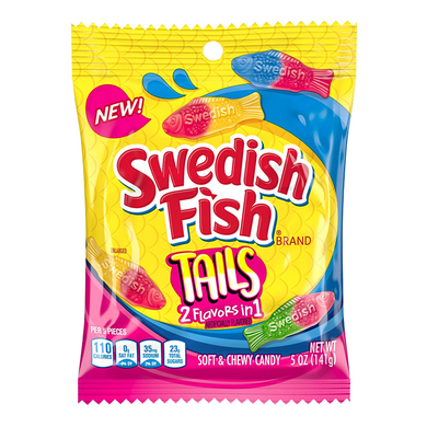 SWEDISH FISH TAILS PEG BAG 141G