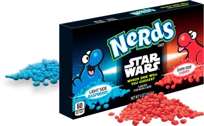 NERDS STAR WARDS LIMITED EDITION THEATRE BOX 141G