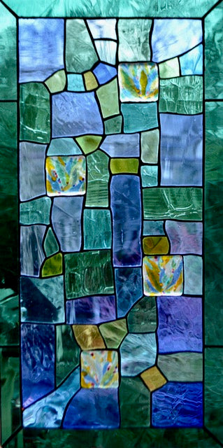 Stained Glass Patchwork I