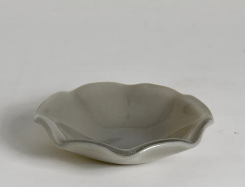 Fluted Mini Bowl  Gray  (6)