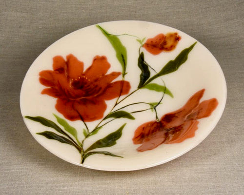 Large Decorative Bowl - Dance of the Poppies