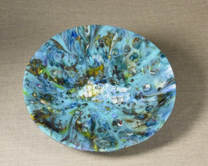 Large Decorative Bowl - Bursting Forth