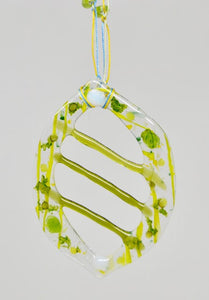 Yellow Macrame Abstract Hanging