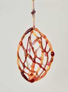 Warm Macrame Abstract Hanging