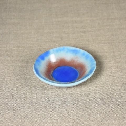 Blue Small Designed Dish