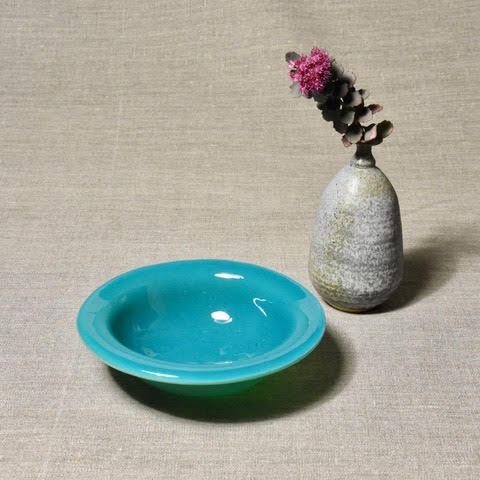 Solid Color Bowl - Blue
