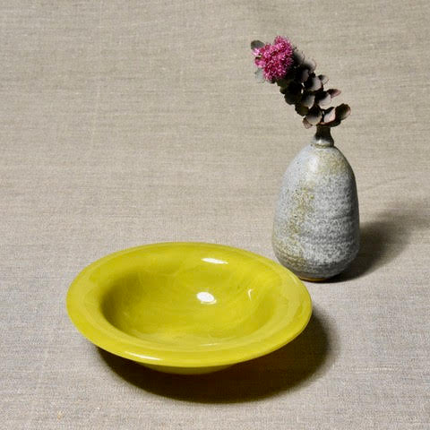 Solid Color Bowl - Deep Yellow