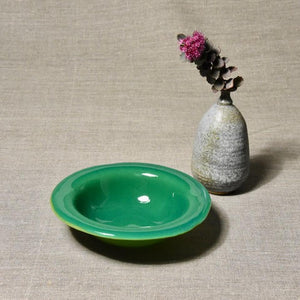 Solid Color Bowl - Mineral Green