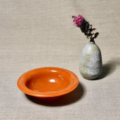 Solid Color Bowl - Burnt Orange