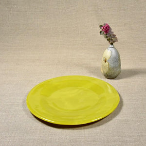 Yellow Dinner Plate