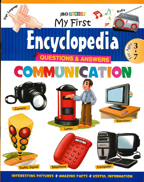 My First Encyclopedia- Communication