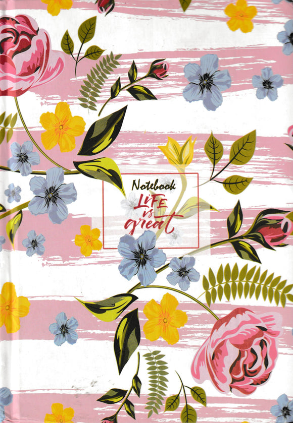 Notebook Life is great دفتر نوتة