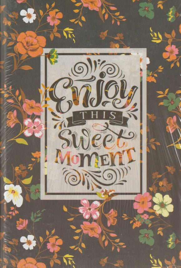 Notebook Enjoy This Sweet Moment دفتر نوتة