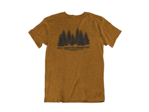 Does a bear shit in the woods? - Gatlinburg TN - Unisex short sleeve T-Shirt