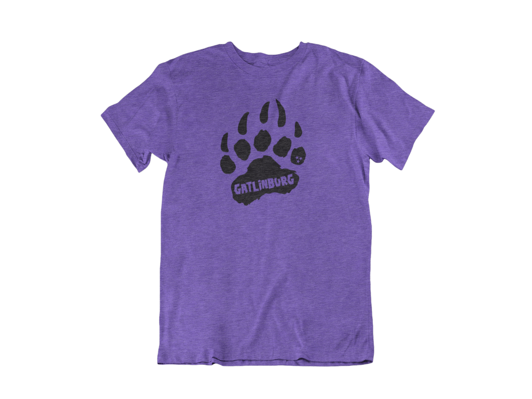 Gatlinburg Paw - Gatlinburg TN - Unisex short sleeve T-Shirt