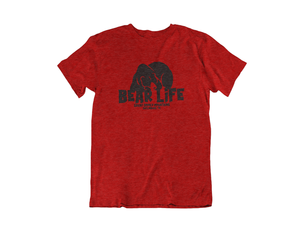 Bear Life - Gatlinburg TN - Unisex short sleeve T-Shirt