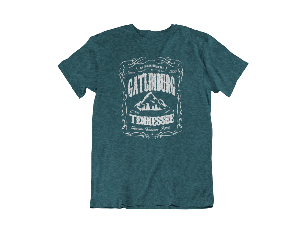 Gatlinburg Heritage - Gatlinburg TN - Unisex short sleeve T-Shirt