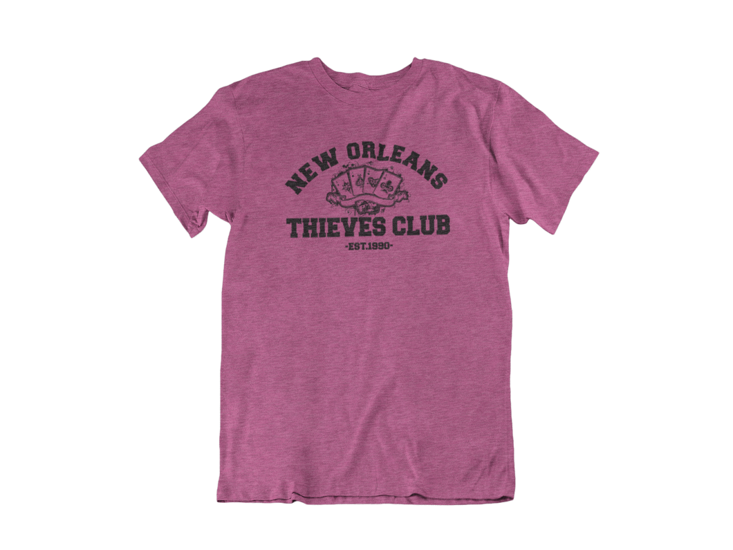 Gambit - New Orleans Thieves Club - Unisex short sleeve T-Shirt
