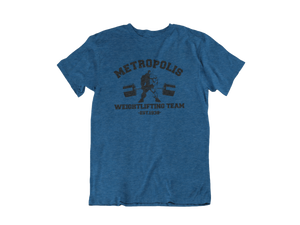 Superman - Metropolis Weightlifting Team - Unisex short sleeve T-Shirt