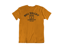 Load image into Gallery viewer, Back to the Future - Hill Valley Science Club - Unisex short sleeve T-Shirt