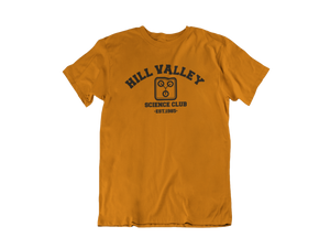 Back to the Future - Hill Valley Science Club - Unisex short sleeve T-Shirt