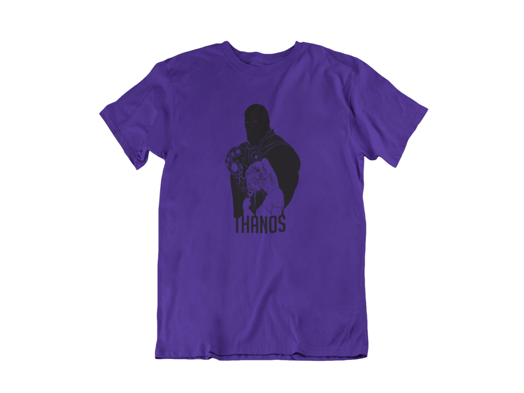 Thanos with Mistress Death - Unisex short sleeve T-Shirt