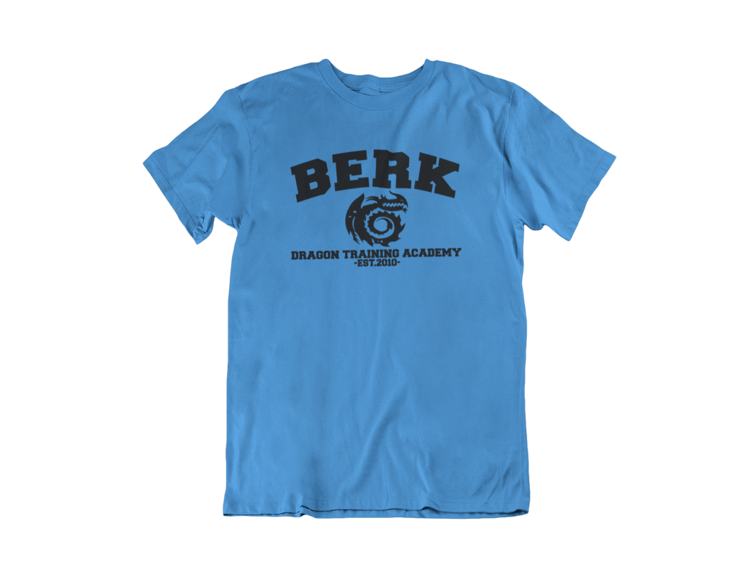 How To Train Your Dragon - Berk Dragon Training Academy - Unisex short sleeve T-Shirt