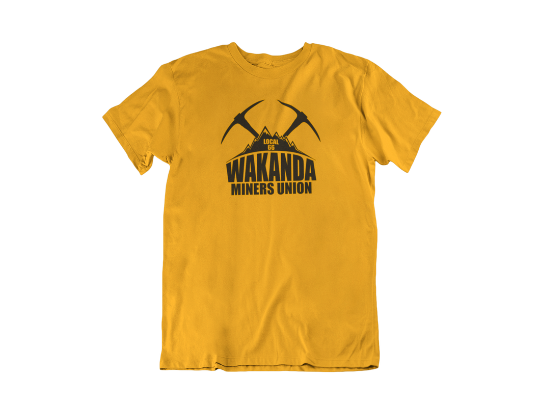 Wakanda Miners Union - Unisex short sleeve T-Shirt